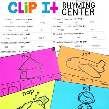 Clip It Rhyming Center