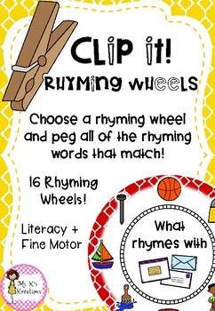 Clip It - Rhyming Wheels