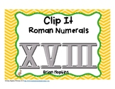 Clip It Roman Numerals