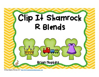 Clip It St. Patrick's Day R Blends