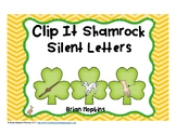 Clip It St. Patrick's Day Silent Letters