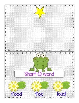 Clip It: Short E & Short O Words (Interactive and Self-Checking Center Activity)