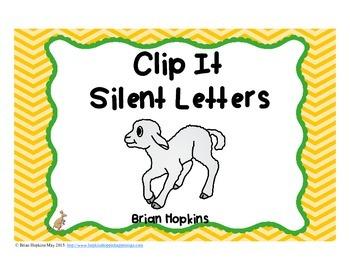 Clip It Silent Letters
