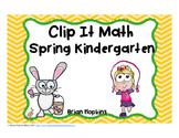 Clip It Spring Kindergarten