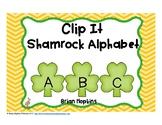 Clip It St. Patrick's Day Alphabet