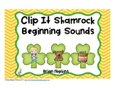 Clip It St. Patrick's Day Beginning Sounds