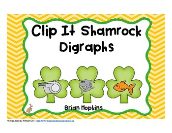 Clip It St. Patrick's Day Digraphs