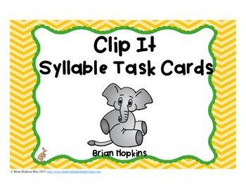 Clip It Syllables