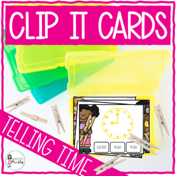Clip It (Telling Time)