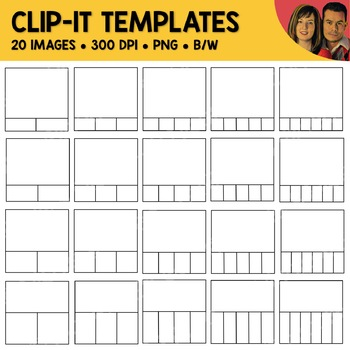 Clip-It Template Clipart