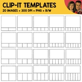 Clip-It Template Clipart