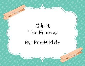 Clip It Ten Frames