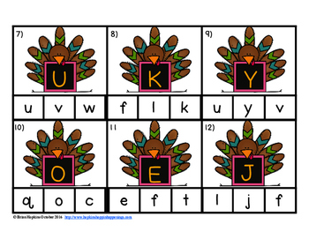 Clip It Turkey Alphabet