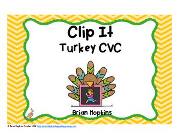 Clip It Turkey CVC Words