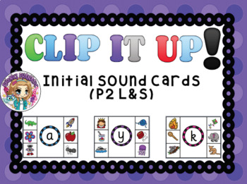 Clip It Up Initial Sound Cards CVC