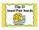 Clip It Vowel Pairs