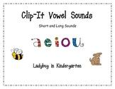 Clip It Vowel Sounds Short and Long Sound