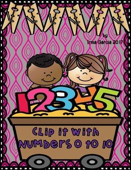 Clip It with Numbers 0 to 10