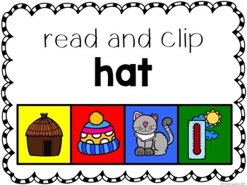 Clip-Its: CVC Words