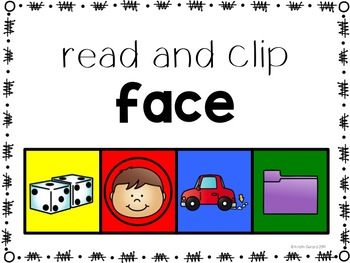 Clip-Its: CVCe Words