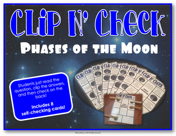 Clip N' Check: Phases of the Moon