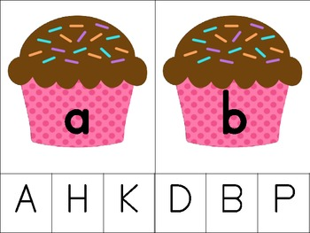 Clip N' Learn: Matching Capital and Lowercase Letters Set #2
