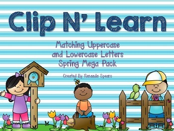 Clip 'N Learn Mega Pack: Spring Theme