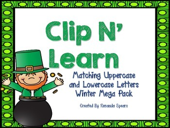 Clip 'N Learn Mega Pack: St. Patrick's Day Theme