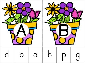 Clip 'N Learn Spring Activity Cards Set #2