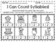 Clip 'N Learn Syllable Activity Cards (Winter Theme Words)