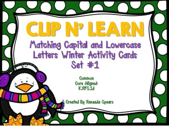 Clip 'N Learn Winter Activity Cards Set #1