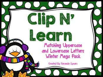 Clip 'N Learn Winter Mega Pack
