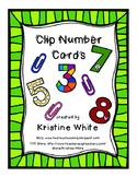 Clip Number Cards