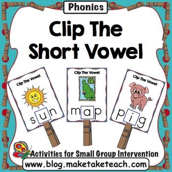 Short Vowels - Clip The Short Vowel