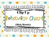 Clip Up Behavior Plan (Rick Morris)