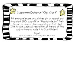 Clip Up Chart: Star Student!