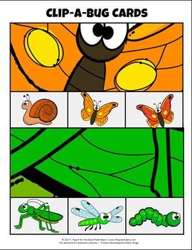 Clip-a-Bug-Cards