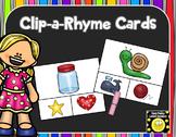 Clip-a-Rhyme Cards