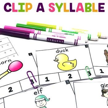 Clip a Syllable | Syllabification Center