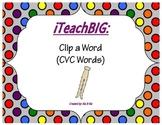 Clip a Word  (CVC Words)