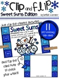 Clip and Flip Cards: Sweet Sums Edition