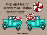 Clip and Match Christmas Theme