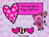 Clip and Match Piggy Addition