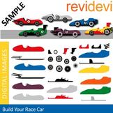 Clip art Build Your Own Race Cars (DIY race cars)