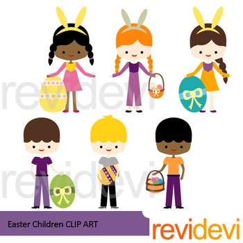 Clip art Easter Children