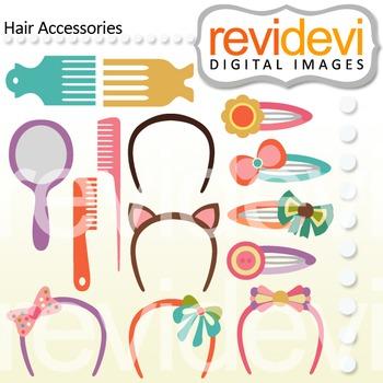 Clip art Hair Accessories 07448 (hair clip, comb)