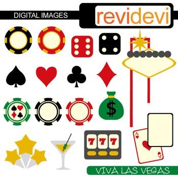 Clip art Las Vegas Casino Dice