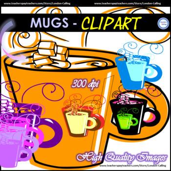 MUGS - Clipart