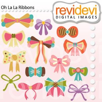 Clip art Oh La La Ribbons 07447 (teacher resource clipart)