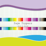 Clip art - Page Toppers